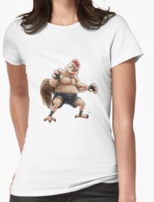 KFC Fighter Womens Fitted T-Shirt