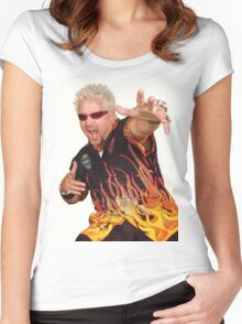 Guy Fieri Women's Fitted Scoop T-Shirt