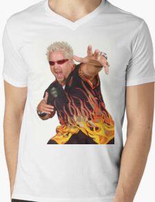 Guy Fieri Mens V-Neck T-Shirt