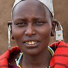 Maasai Woman by Scott Carr