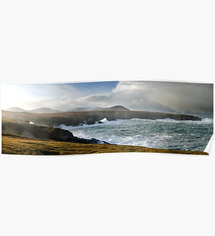 Stormy Seas, Co Mayo, Ireland Poster