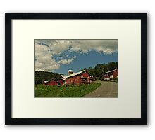Protected Farmlands Framed Print