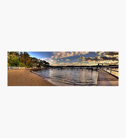 Walking In Paradise - Paradise Beach,Sydney (25 Exposure HDR Panoramic) Photographic Print