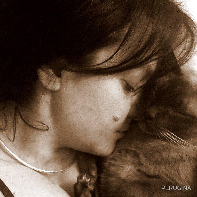 chocky sleeps by PERUGINA
