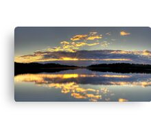 Blessings - Narrabeen Lakes, Sydney Australia - The HDR Experience/ Canvas Print