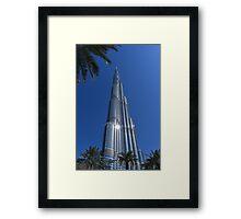 Burj Khalifa Dubai Mall, Dubai Framed Print