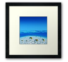 Post Card from Tahiti Framed Print