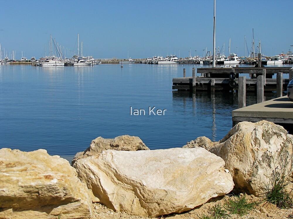 Blue Bayou, Fremantle-style by Ian Ker