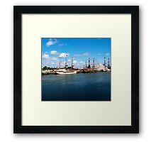Tall Ships 2010 Framed Print