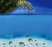 Post Card from Tahiti by Atanas Bozhikov Nasko