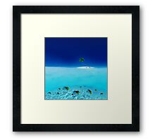 Post Card from Mauritius Framed Print