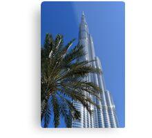 Burj Khalifa Dubai Mall, Dubai Metal Print