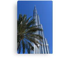 Burj Khalifa Dubai Mall, Dubai Canvas Print