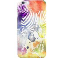 White Zebra iPhone Case/Skin