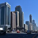 Dubai, Sheikh Zayed Road by AravindTeki