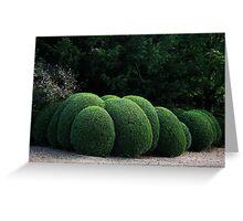 Spherical Topiary Greeting Card