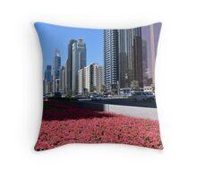 Dubai, Sheikh Zayed Road Throw Pillow