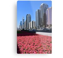 Dubai, Sheikh Zayed Road Metal Print