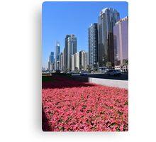 Dubai, Sheikh Zayed Road Canvas Print