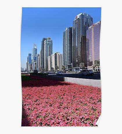 Dubai, Sheikh Zayed Road Poster