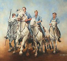 The cowboys are coming by David McEwen