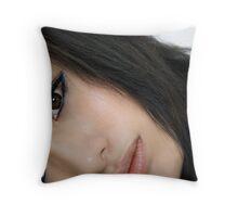 China Doll Throw Pillow