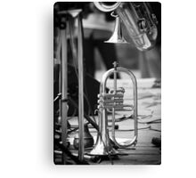 Jazz Trumpet Canvas Print