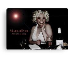 Maralyn... Always a Star Canvas Print