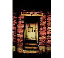 the cold store Photographic Print