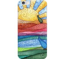 Windy Day in Lollypop Land iPhone Case/Skin