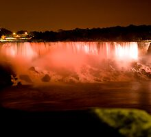Falls at night by Sean McConnery
