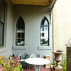 *A Cosy outdoor corner at the Daylesford Convent -Vic. Aust.* by EdsMum