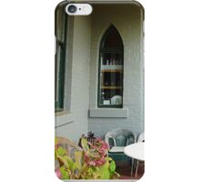*A Cosy outdoor corner at the Daylesford Convent -Vic. Aust.* iPhone Case/Skin