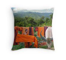 LAUNDRY - BURMA Throw Pillow