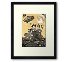 Coffin Cruisers Framed Print