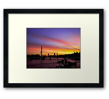 London at Sunset 2 Framed Print