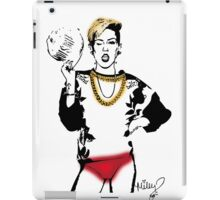 Miley Red Panties iPad Case/Skin