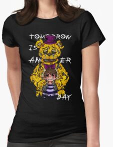 Tomorrow is another day Womens Fitted T-Shirt
