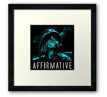 Affirmative Framed Print