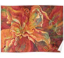 Flaming Flower 2 Poster