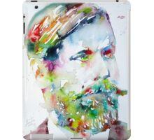 SIGMUND FREUD - watercolor portrait iPad Case/Skin