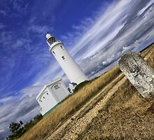 """A Different Perspective"" - Hurst Point Lighthouse Keyhaven Hampshire by silvcurl09"