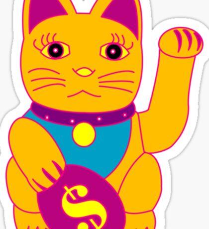 Lucky Cat 2 Sticker