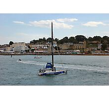 COWES FRONT AUG 2010. Photographic Print