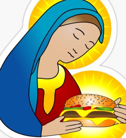 Holy Burger Sticker