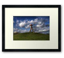 The Wickerman Longbow Framed Print
