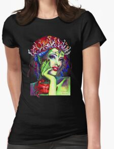 Beautiful Sea Creature Womens Fitted T-Shirt