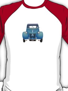 Citroën 2CV Blue (with gradients) T-Shirt