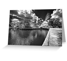 """""""Down by the Riverside"""" - View of Beaulieu River Hampshire England Greeting Card"""
