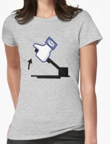 Pull the handbrake lovers  Womens Fitted T-Shirt